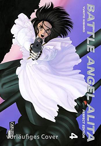 Battle Angel Alita - Perfect Edition, Band 4 im Sammelschuber mit Extra: Hochwertige Neuausgabe des epischen Science-Fiction-Mangas