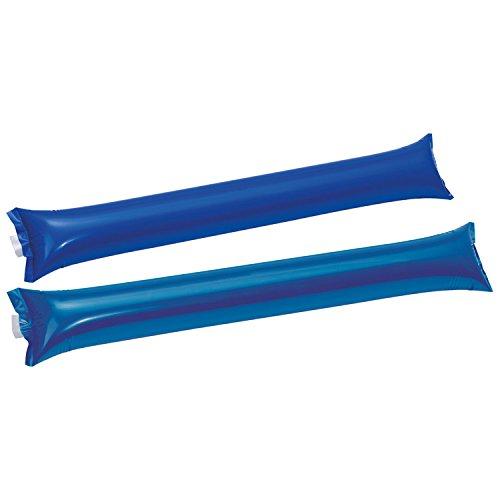 20 (10x2) Klatschstangen / aufblasbar / Farbe: blau