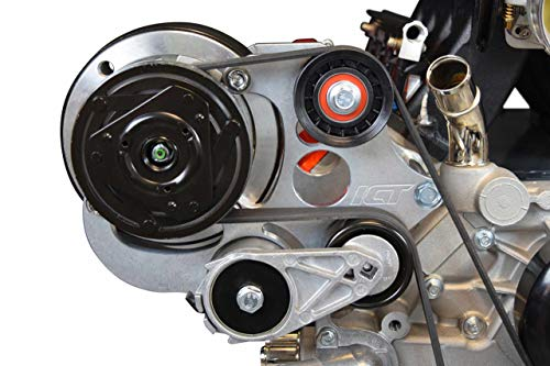 ICT Billet LS Truck R4 A/C Air Conditioner Compressor Bracket Kit SUV LSX AC (LS3 Camaro) LS1 LS3 LS2 LQ4 LQ9 LS6 L92 L99 L33 LR4 Designed & Manufactured in the USA 551585X-3