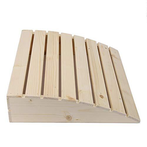 Sauna hoofdsteun, praktische comfortabele sauna kamer kussen hoofdsteun houten kussen Sauna benodigdheden accessoires in vakmanschap
