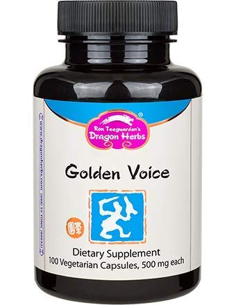 Dragon Herbs Golden Voice - 500 mg -100 Capsules
