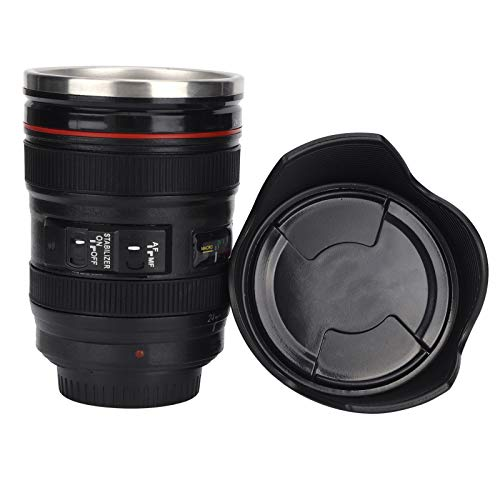 Emoshayoga Camera Cup Cup Gift non ‑ toxic Coffee Cup sturdy Lens Mug BPA free home for household office