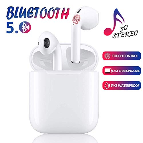 Bluetooth-Kopfhörer,kabellose Touch-Kopfhörer HiFi-Kopfhörer In-Ear-Kopfhörer,Tragbare Sport-Bluetooth-Funkkopfhörer,Für Apple Airpods Android/iPhone/Samsung/AirPods Pro