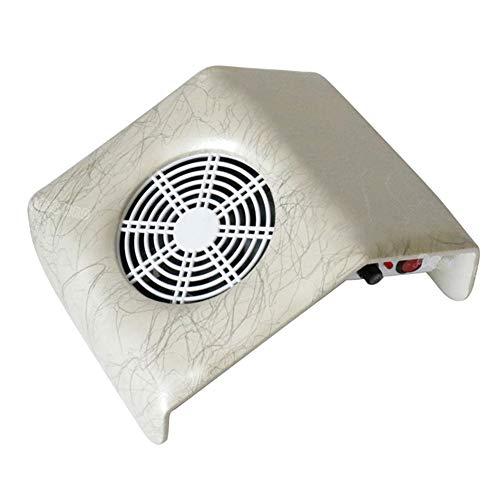 Aspirateur Manucure Machine multifonctionnelle de poussière de clou d'aspirateur de bureau de clous déchargeant l'outil 110v / 220v de nettoyage de clou de collecteur de poussière de ponçage,white
