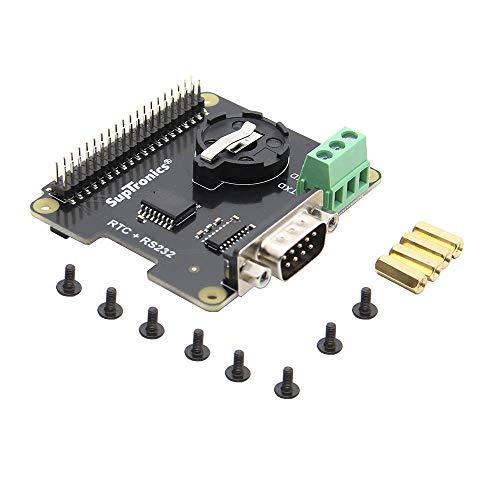weichuang Elektronisches Zubehör X230 RS232 Seria Port & Echtzeituhr (RTC) Erweiterungsplatine für RPi Elektronikteile Elektronikzubehör
