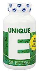 Natural Form of Vitamin E 400 I.U's of d-alpha tocopherol No additives or fillers Proprietary formula Strict quality control with 3rd party assay