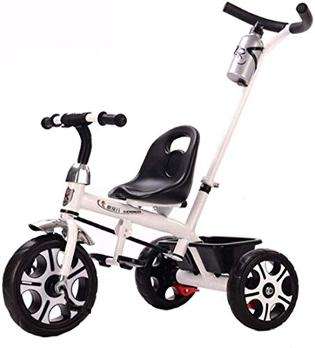 Landaus Tout-Petits Trikes Enfants Vélo 2-in-1 Poussez and Ride Poussette Tricycle Enfant en Bas âge Vélo Tout-Petits dès 1 an à 5 Ans Les Enfants de 1-3-5 Fournitures pour bébé