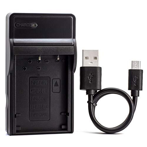 D-LI7 USB Cargador para Pentax Optio 450, Optio 550, Optio 555, Optio...