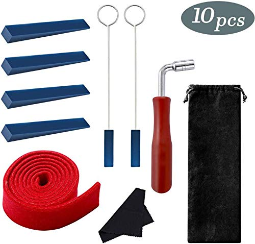 %6 OFF! Piano Tuning Kit, INTSUN Professional Piano Tuner Kit, Including Tuning Wrench Hammer, Felt ...