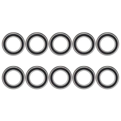 Rodamiento de bolas de ranura profunda Accesorios mecánicos Rodamiento de brida de rodamiento de usos múltiples para electrodomésticos(F6906ZZ)