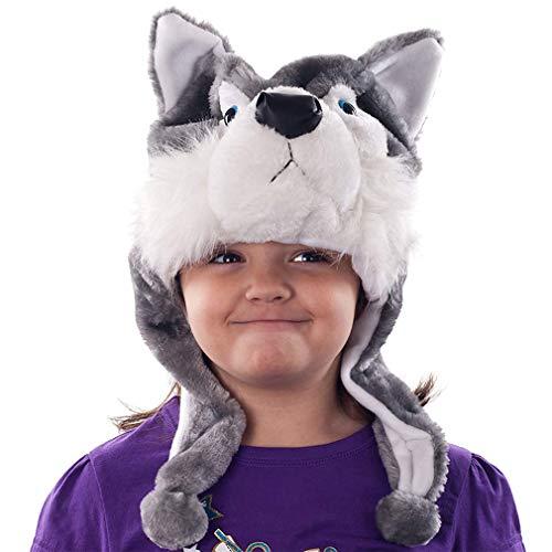 Oreja animal niños sombrero historieta capilla lobo