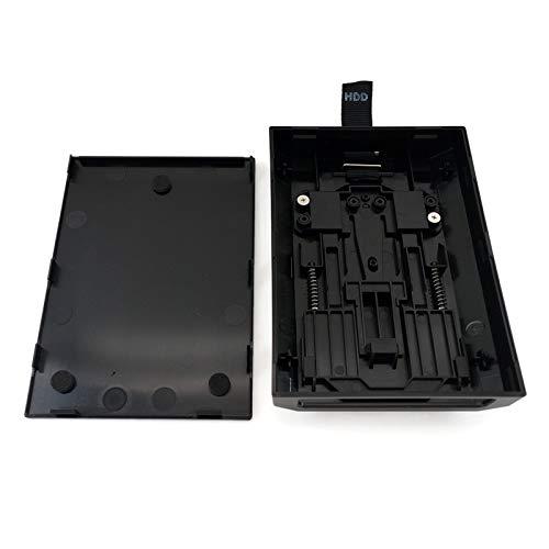 WOWOWO 1Pcs pour -360 Slim boîtier de Disque Dur Interne D boîtier D Noir