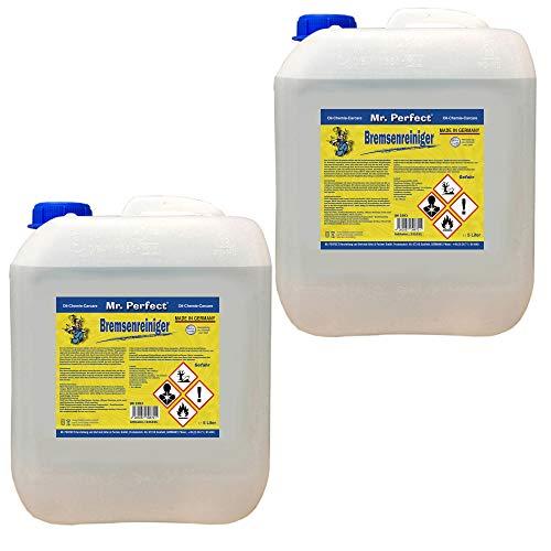 Mr. Perfect® Bremsenreiniger, Bremsscheibenreiniger für KFZ - 2 x 5 Liter