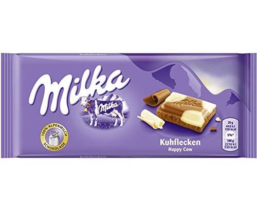 Milka Alpenmilch mit Kuhflecken Menge:100g