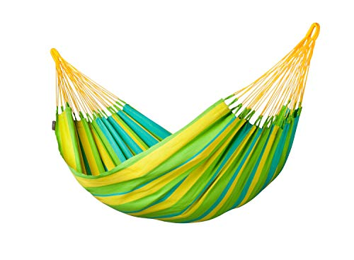 LA SIESTA Sonrisa - Hamac classique simple outdoor - Lime
