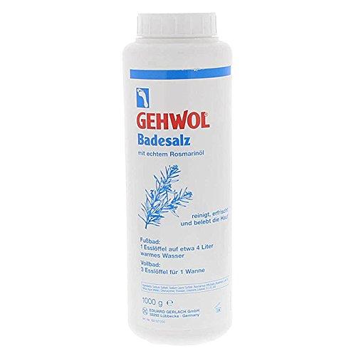 GEHWOL Badesalz mit echtem Rosmarinöl Fussbad, desodorierend, 1000 g