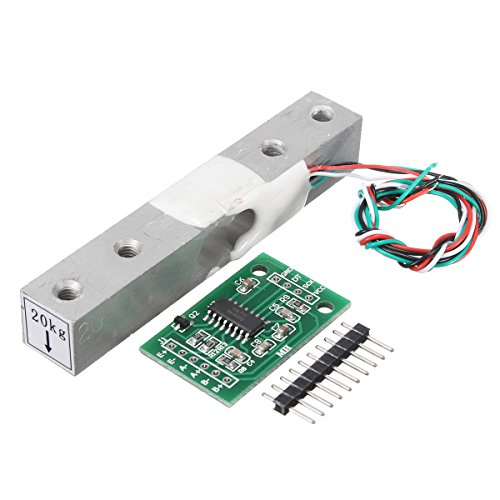 ILS - HX711 Module + 20kg Aluminum Alloy Scale Weighing Sensor Load Cell Kit for Arduino