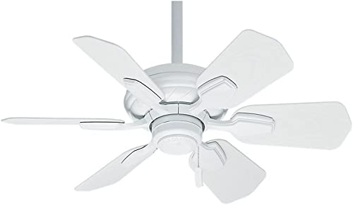 new arrival Hunter Fan Company 59523 Casablanca Wailea Indoor / Outdoor Ceiling Fan with Pull Chain Control Snow White high quality Finish, high quality 31-inch outlet sale