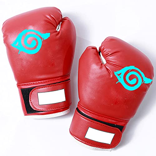 Naruto Boxhandschuhe Männer, PU Leder...