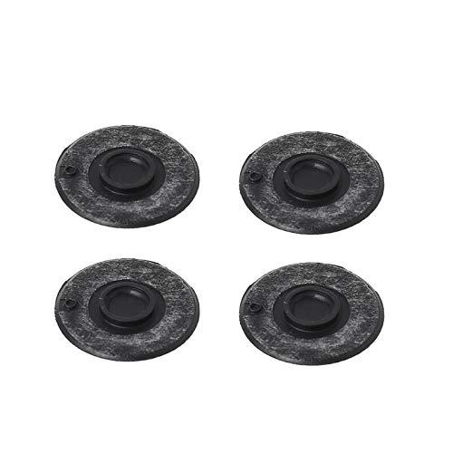 Almohadilla para pies de goma con caja inferior Unibody de 4 piezas para tableta portátil Wxtb