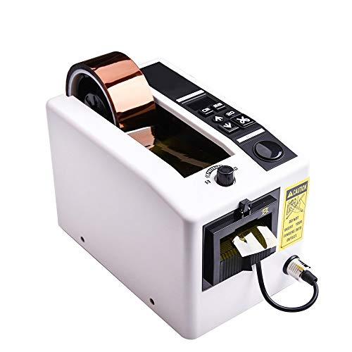 Dispensador automático de cinta, cortador electrónico de cinta adhesiva de longitud definida, se...