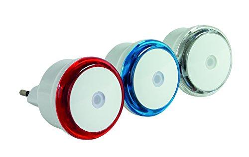 REV Ritter 0029340002 LED-Nachtlichter-Set, 3 Stück, farbig Sortiert