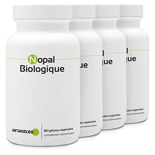 NOPAL ECOLÓGICO * OFERTA 3+1 GRATIS * 470 mg / 720 cápsulas * Cardiovascular (glucosa), Digestión, Peso (adelgazamiento, corta-hambre, quemagrasas) * Fabricado en Francia