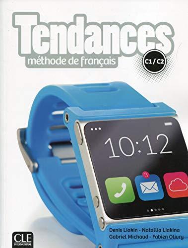 Tendances: Livre de l'eleve C1/C2 + DVD-Rom [Lingua francese]: Méthode de français