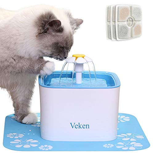 Cats Water Bowls With Fountain