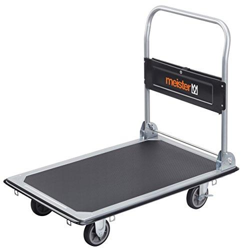 Meister Carrello trasportatore, portata massima 300 kg, pieghevole - 8985540