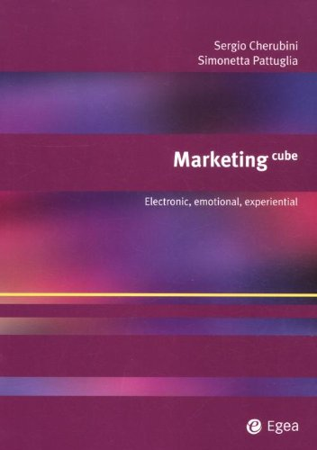 Marketing cube. Electronic, emotional, experiential