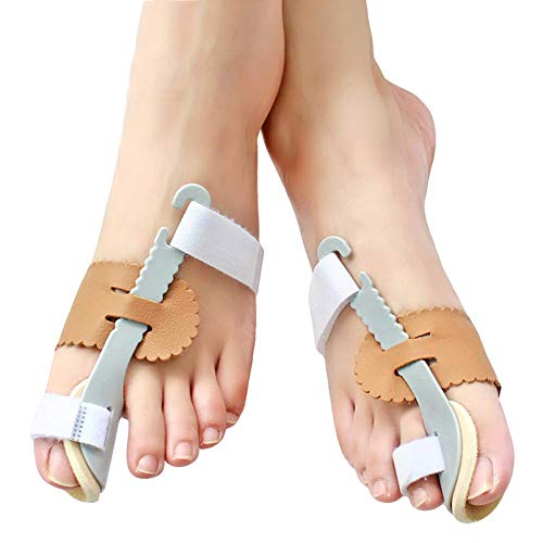 YXB Korrektor, Big Toe Glätteisen für Frauen und Männer Night Support Behandeln und verhindern Sie Hallux Valgus Grey