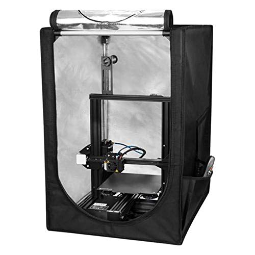 3D Printer Enclosure, Constant Temperature Soundproof Printer Cover Tent Soundproof Dust-Proof Enclosure for Ender 3 Ender / 3 Pro/Ender 3S / CR-100 / CR 20