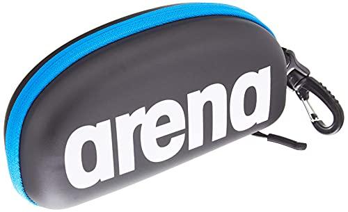 Arena 000001E048-507 Estuche para Gafas de natación, Unisex Adulto, Negro/Blanco, Universal