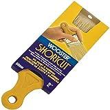 Wooster Brush Z3215-2 Shortcut White Bristle Angle Sash Paintbrush, 2-Inch