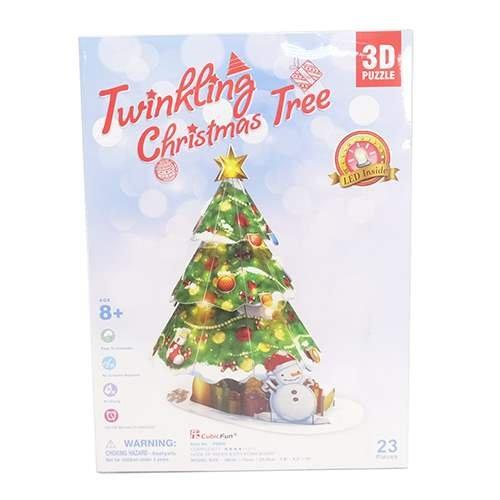 ドールハウス 3D Craft model クリスマスシリーズ クリスマスツリー