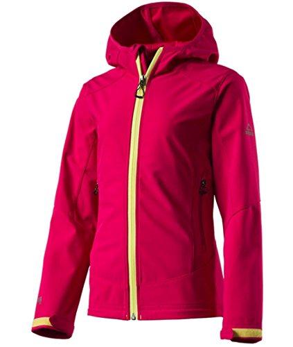 McKinley Mädchen Wander Freizeit Softshell Jacke Melmoth II pink dark, Größe:152