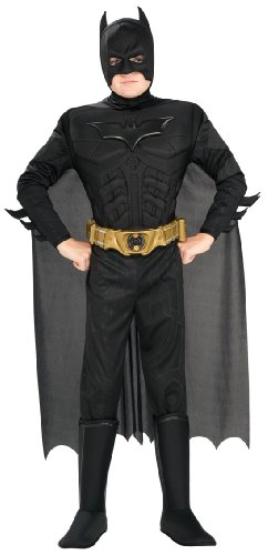Rubie's Rubies 3 883104 – Enfants Costume Deluxe Muscle Chest Batman