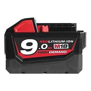 Milwaukee M18B9 M18 9.0Ah Red Lithium-Ion Battery New (B01BKF8N0W) | Amazon price tracker / tracking, Amazon price history charts, Amazon price watches, Amazon price drop alerts