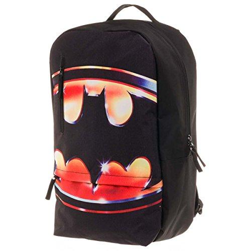Batman rugzak Big Pack XL logo flat backpack tas schoudertas