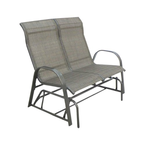 Where To Find Living Accents Metropolitan Outdoor Patio Loveseat Bench Glider Fade Strech