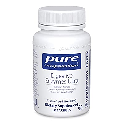 Pure Encapsulations - Digestive Enzymes Ultra - Comprehensive Blend of Digestive Enzymes - 90 Capsules