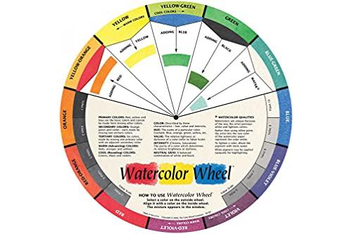 The Color Wheel Company Watercolor Wheel Watercolor Color Wheel