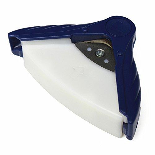 "Driak 3/8"" Corner Rounder Paper Punch Photo Cutter Tool Chamfering Machine Chamfer Craft Scrapbooking R10 Corner Rounder Punch 10mm"