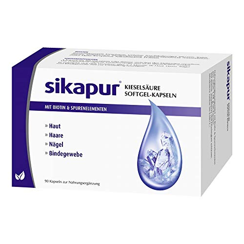 sikapur Kieselsäure Softgel-Kapseln, 90...