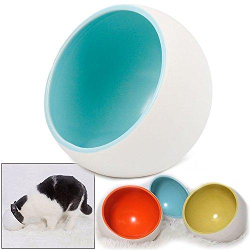 iikuru 猫 食器 陶器 猫用 食事 フード ボウル ねこ 皿 ペット 犬 餌入れ 犬用 水入れ ペット用 いぬ 器 食べこぼし防止 x670