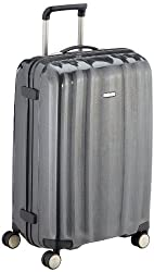 Samsonite suitcase travel case Cubelite SPINNER, 76 cm, 96 liter, graphite, 41361