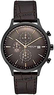 Kenneth Cole Casual Watch For Men Analog Leather - KC15181010