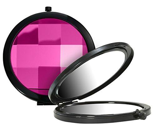 Beter 14309 Miroir de poche grossissant x 3, finition en cristal