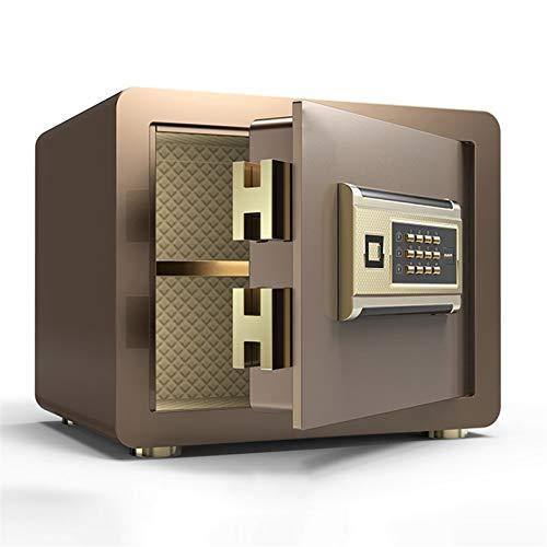 XHMCDZ Caja de Seguridad, Caja Fuerte, Cajas de Seguridad for el hogar, joyería Protect, Efectivo, Seguro for la Oficina en casa/hogar/finanzas, 3 Colores a Elegir de Cajas Fuertes